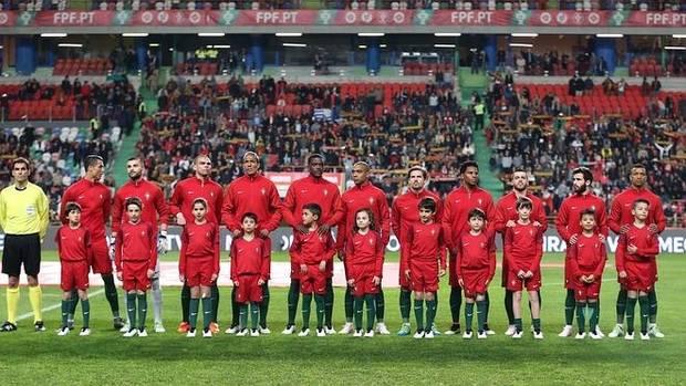 La selección de Portugal.