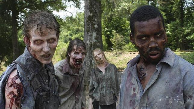 Escena de la famosa serie ' The Walking Dead'