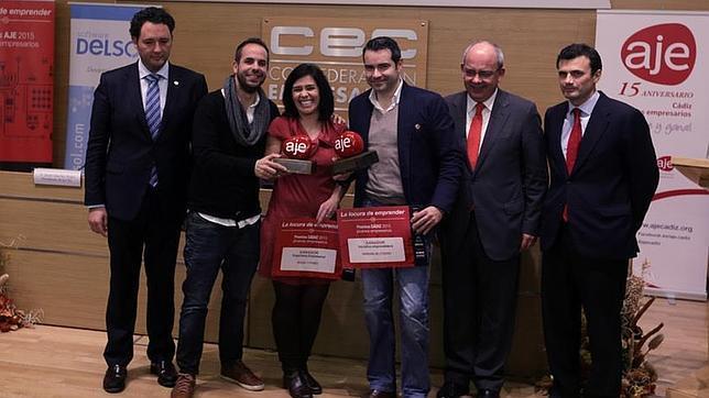 Entrega de los Premios AJE Cádiz