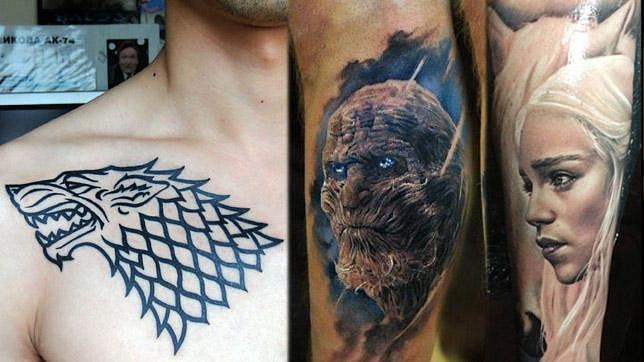 Tatuajes Sobre Series Solo Aptos Para Fans Muy Atrevidos