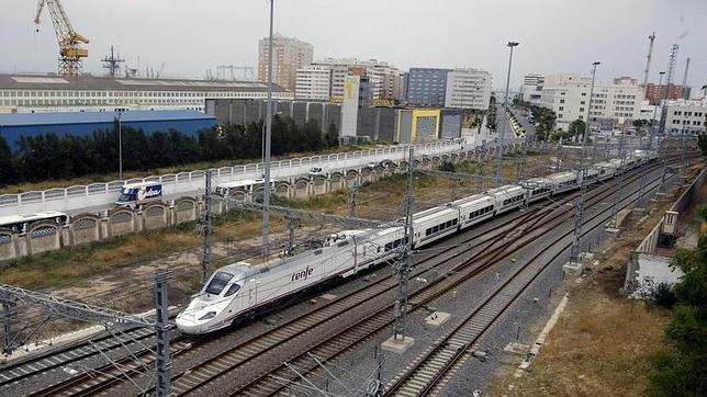 La obra de la alta velocidad Sevilla-C�diz llega a su fin despu�s de catorce a�os