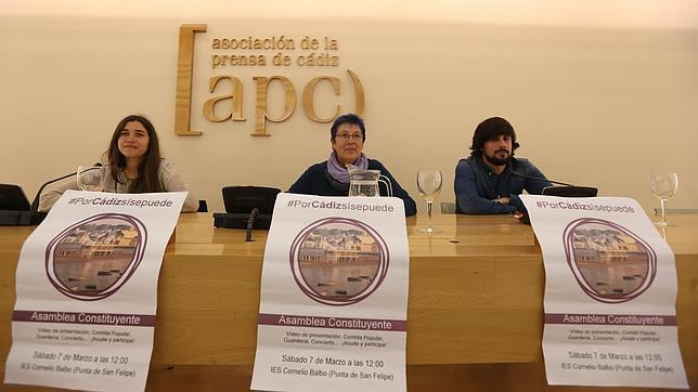 Dimiten tres miembros del Consejo de Podemos en Cádiz por la «manipulación de la asamblea» por parte de la dirección