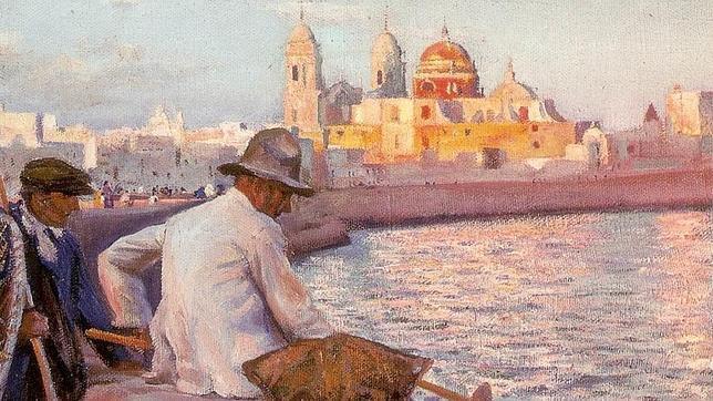 Godoy pintó la Catedral en 'Pescadores de caña'