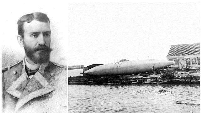 San Fernando condena al olvido a Isaac Peral, el inventor del primer submarino