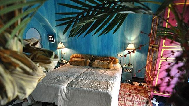 Habitación Tánger del Hotel Utopía de Benalup