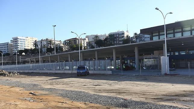 Las obras de la nueva estación de autobuses de Cádiz encaran ya su recta final
