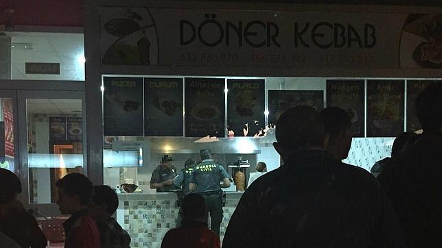 Registro en el kebab de Ubrique