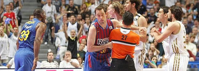 Barcelona y Real Madrid se medir�n contra la NBA