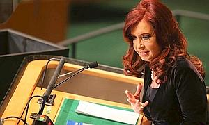 Cristina Fernández lleva a los 'indignados' a la ONU