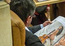Revilla dice que buscaba en Interviú un «interesantísimo» reportaje sobre Blesa
