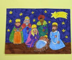 Dibujos De Navidad Hechos Por Ninos.Los Ninos Dibujan La Navidad