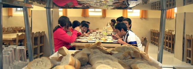 Los comedores escolares abren tarde por falta de presupuesto la voz digital - Comedores escolares malaga ...