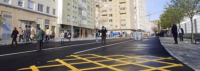 La calle Medina Sidonia ya está abierta al tráfico