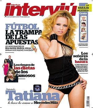 Tatiana Se Desnuda En Interviú