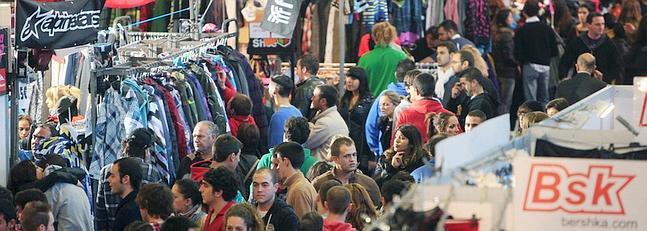 La segunda edicin de 39 stock feria outlet 39 vuelve desde for Feria outlet zaragoza