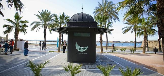 La caleta estrena una oficina de turismo permanente la for Oficina de turismo huesca