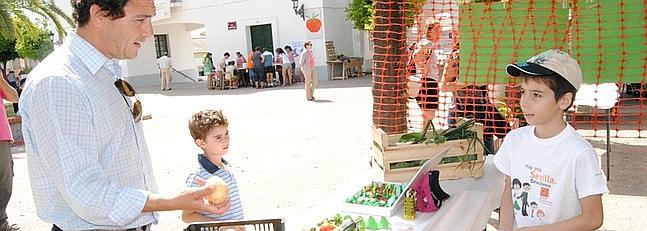 Más de 6.000 niños colaboran en el programa de huertos escolares en Cádiz
