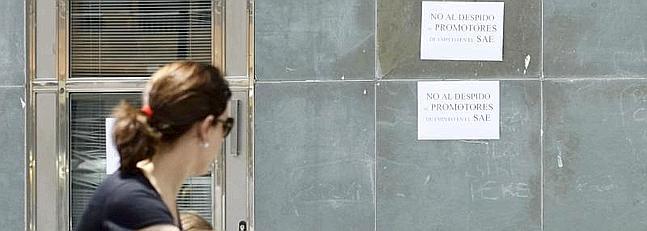 La junta despide a 74 trabajadores de las oficinas de for Oficina de empleo de segovia