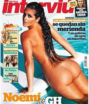 Noemí De Gh Se Desnuda En Interviú Para Hablar De Mercedes Milá
