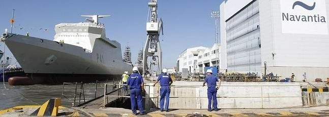 Navantia modernizará un patrullero para la Armada mozambiqueña