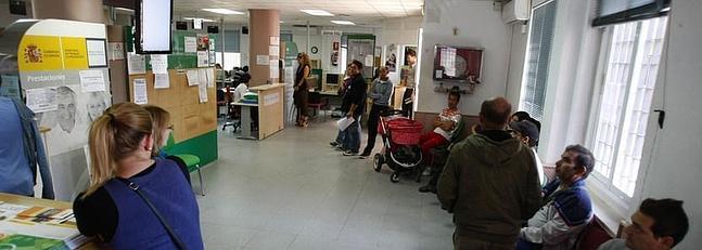 Las oficinas de empleo de c diz se quedar n bajo m nimos a for Oficina empleo valladolid