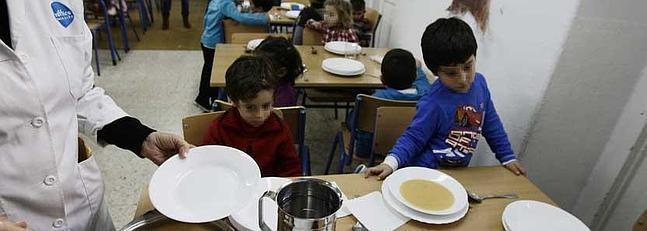 Los comedores escolares recuperan la normalidad con la nueva empresa la voz digital - Comedores escolares malaga ...