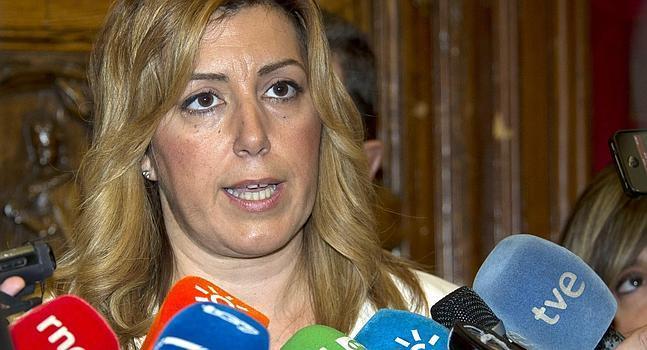 Susana Díaz pide «transparencia y ejemplaridad» a UGT