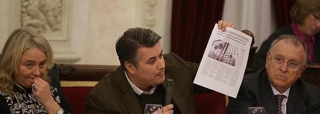 José Blas, contra el INE