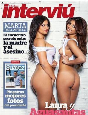 Aguasantas Se Desnuda En Interviú Y Arremete Contra Raquel Bollo