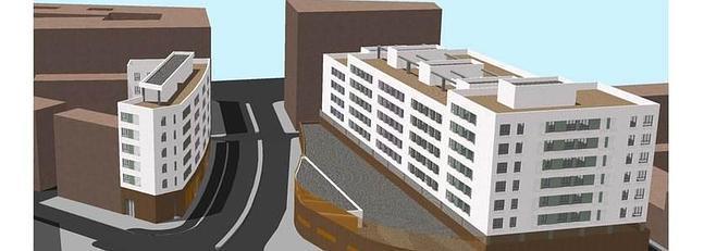 Procasa adjudica la construccin de los pisos de la guardia for Pisos en cadiz capital