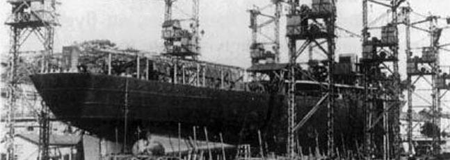 El astillero de Cádiz reparará un portaaviones de la Segunda Guerra Mundial