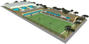 El primer complejo deportivo municipal de la playa abrir - Complejo deportivo el mayorazgo ...