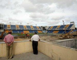 Termina la demolición de la tribuna