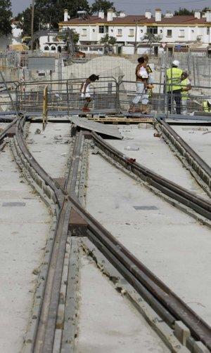Las obras del tranvía alcanzan velocidad de crucero para estar acabadas en 2012