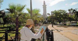 El pincel dibuja el Cádiz de 1812