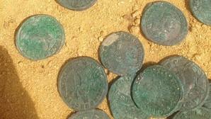Tomares reclama a la Junta el tesoro romano hallado en el Parque del Olivar del Zaudín