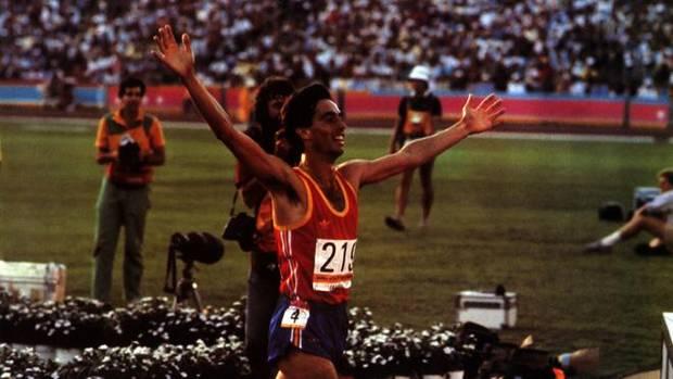 José Manuel Abascal celebra el bronce en 1.500.