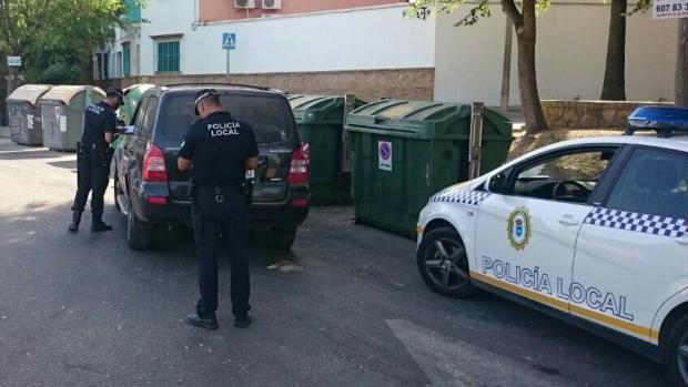 La Policía Local de Carmona realiza campañas específicas de control