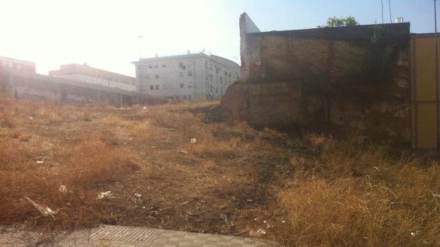 El entorno del centro de salud Virgen de la Oliva acumula basura y pastos/ABC