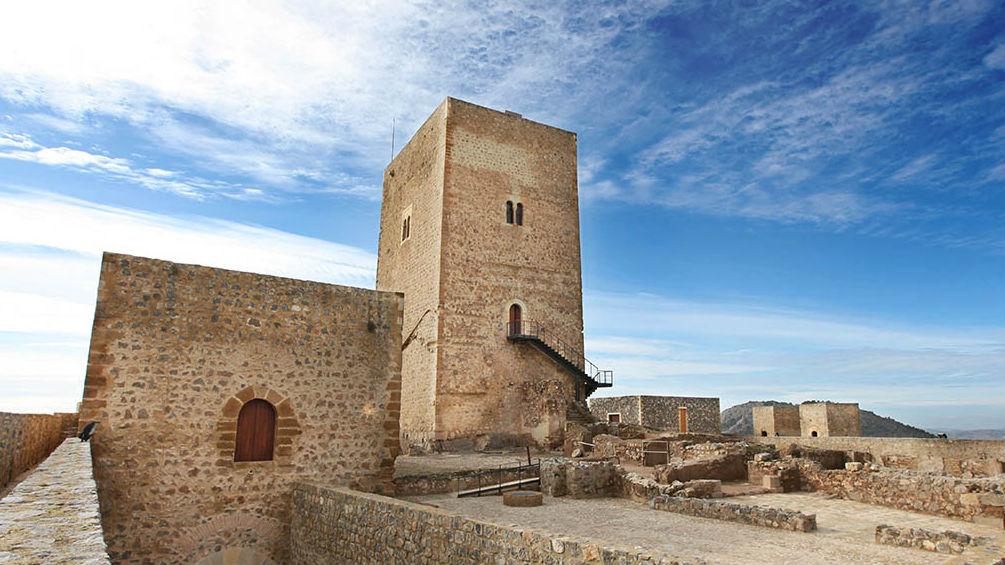 Castillo de Alcaudete.