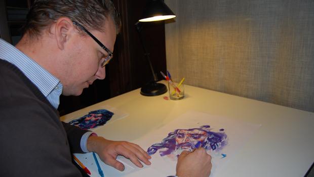 El artista Juan Miguel Martín Mena / L.M.