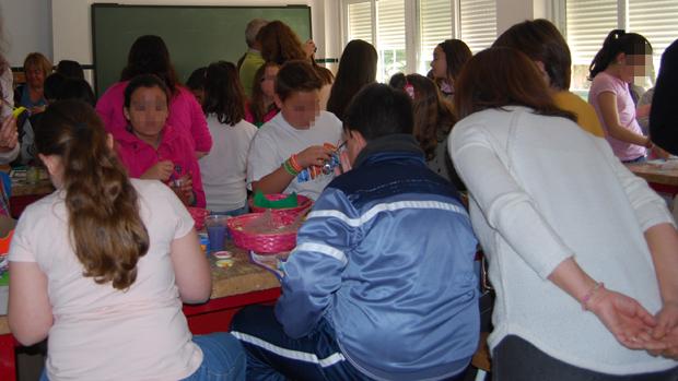 Alumnos de un centro de Dos Hermanas / L.M.