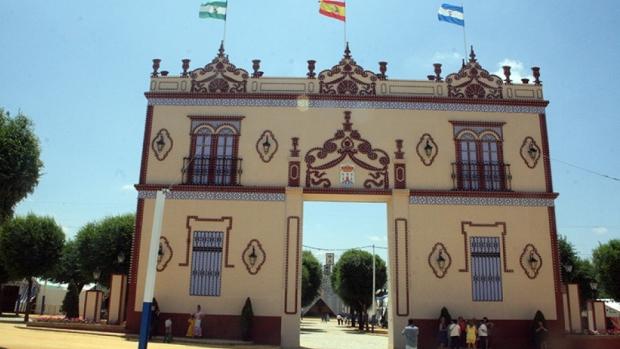 La portada de la Feria de Alcalá suele inspirarse en algún elemento patrimonial/A.Calderón