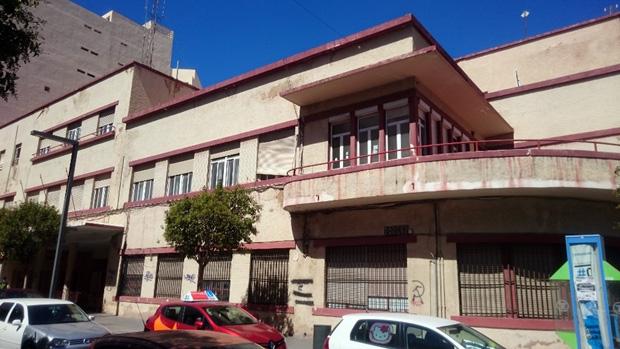 Antiguo cuartel de la Policía Local de Almería / ABC