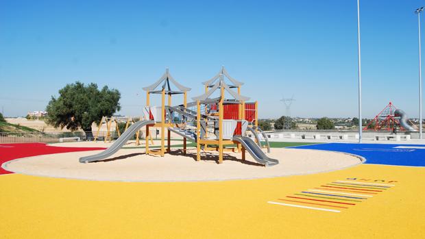 Parque infantil de Dos Hermanas