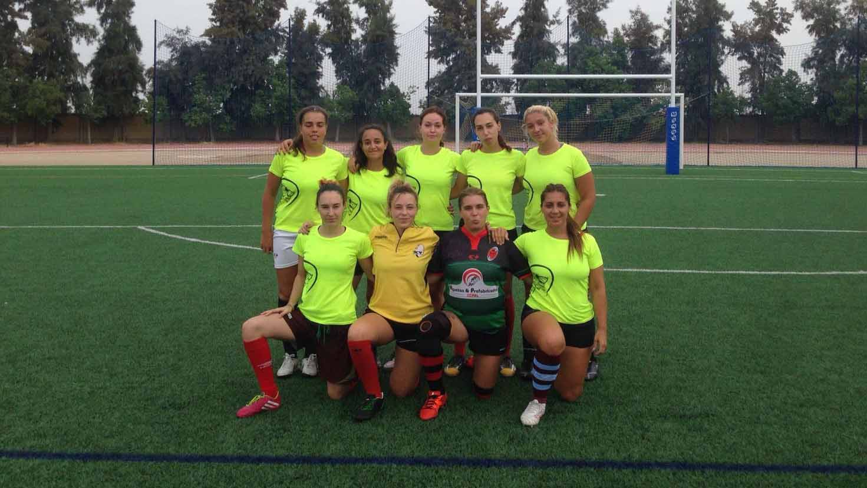 El Club de Rugby de Utrera tiene equipos femeninos