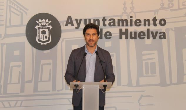 El concejal de Seguridad y Tráfico, Enrique Gaviño