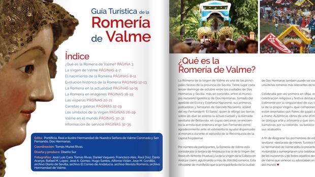 Imagen de la guía turística de la romería / ABC
