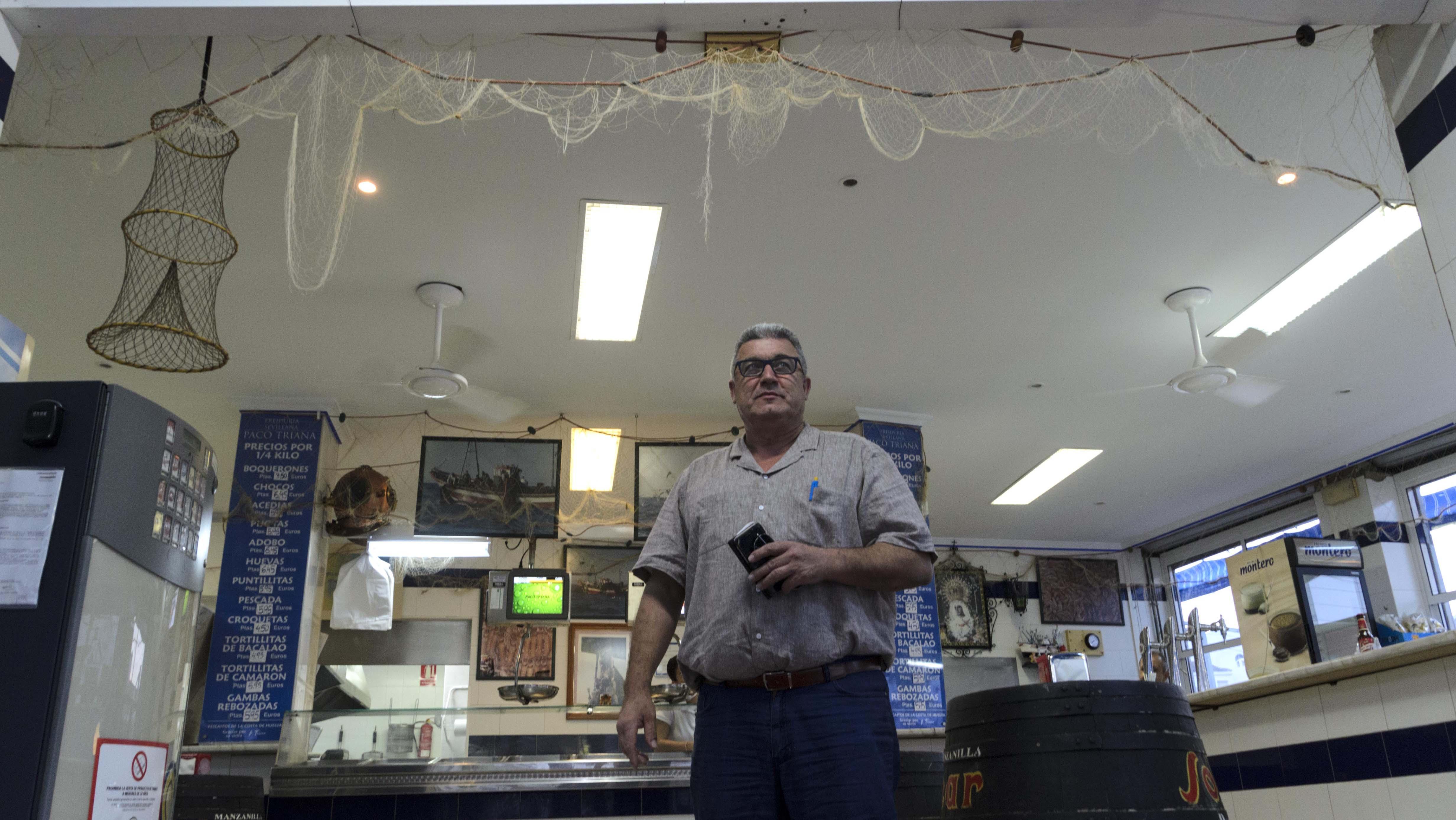 Francisco Triana ha sufrido dos robos este pasado mes de agosto y un tercer intento frustrado