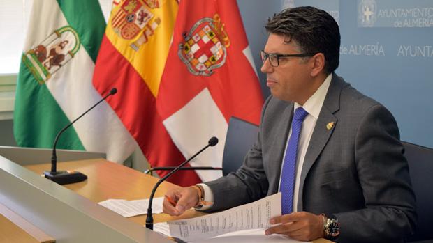 Miguel Cazorla, portavoz de C's en el Ayuntamiento de Almería / ABC